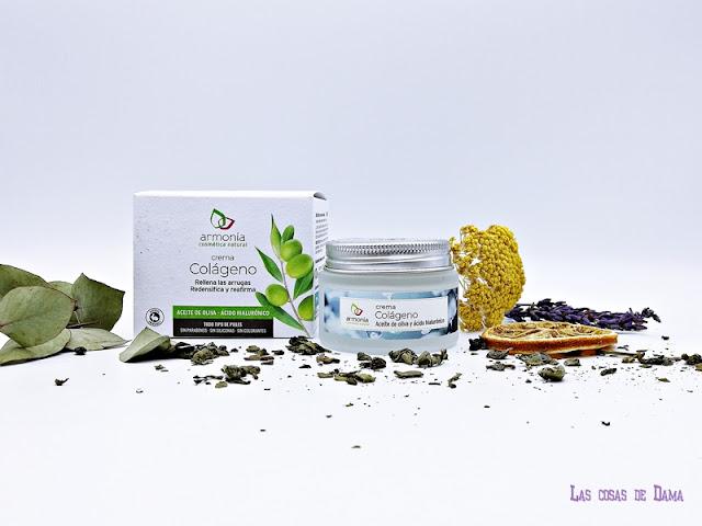 Crema Colágeno Armonía Cosmética Natural facial cremas beauty belleza skincare reciclar