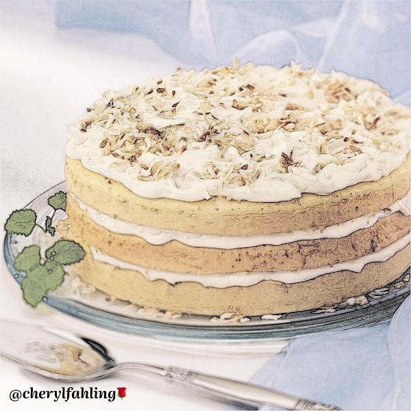 Coconut 🥥 Supreme Torte