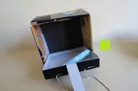 Box öffnen: Kunstvolles Silber Halskette mit Kolibri Anhänger