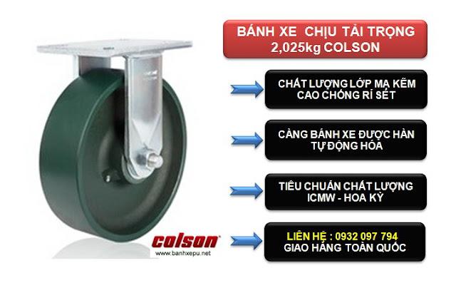 Bánh xe đẩy công nghiệp siêu tải nặng 2,025kg | 7-10678-279 www.huynhgia.biz