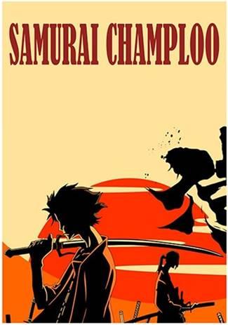 Samurai Champloo es un anime seinen de samurais y rap