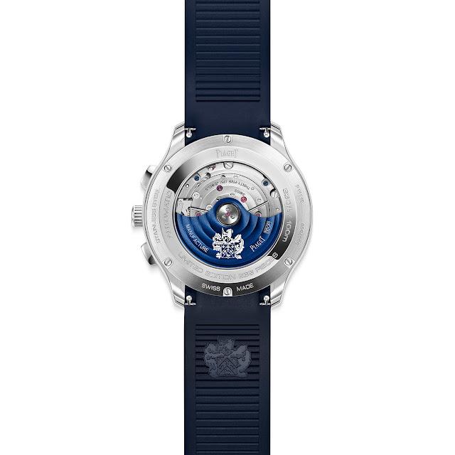 Piaget Polo Chronograph Adorned with Diamonds