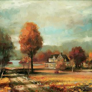pinturas-paisajes-de-campos-con-ninas vistas-campos-con-ninas