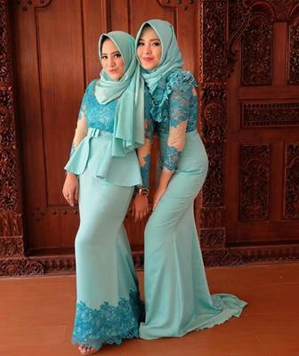 Baju Model Kebaya Muslim Untuk Wanita Berhijab
