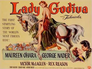 Póster película Lady Godiva