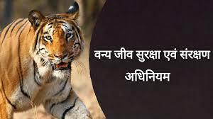 वन्य जीव सुरक्षा एवं संरक्षण ( Protection and Conservation of Wild Life)