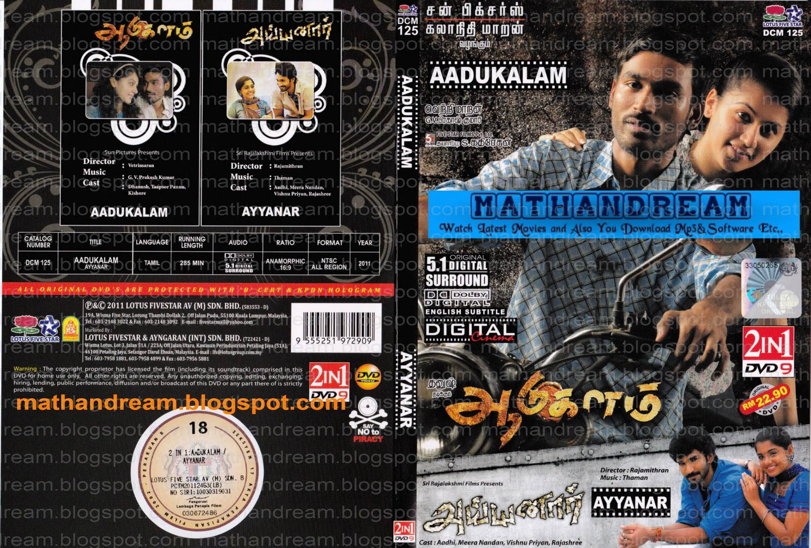Aadukalam Movie Download