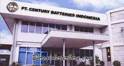 Lowongan Kerja PT. Century Batteries Indonesia