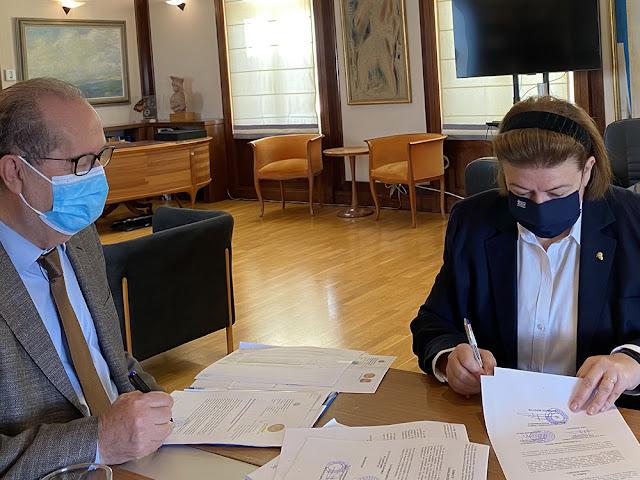 Υπογράφηκε η προγραμματική σύμβαση για το σύστημα πυρόσβεσης στον αρχαιολογικό χώρο των Μυκηνών