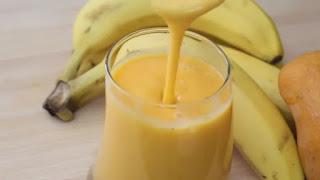 العصير الثاني: الموز والمانجا