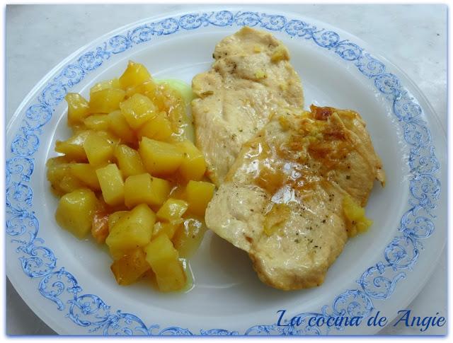 Filetes De Pollo Con Salsa De Cebolla (olla Gm)