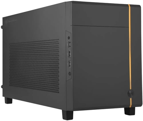 SilverStone Technology Mini-ITX Cube Chassis PC Case