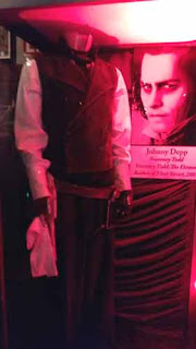 Sweeny Todd Costume At The Hollywood Museum