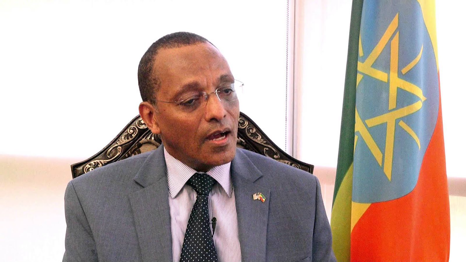 <Ethiopian Ambassador to the U.S. may not return home due to allegations of corruption: ESAT