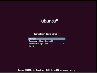 Установка Ubuntu mini.iso + Xubuntu core шаг 1