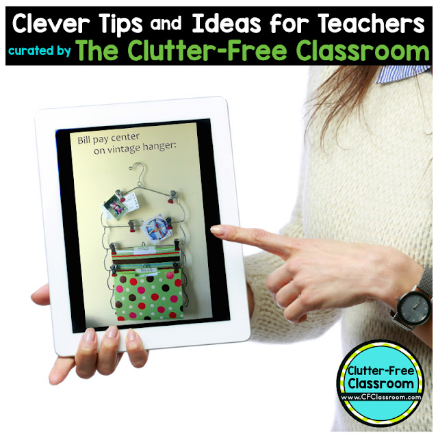 Classroom organization is a important. This tip will show teachers how to organize papers and create extra storage in the classroom.