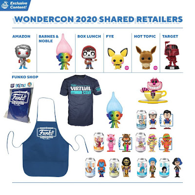 WonderCon 2020 Exclusives by Funko