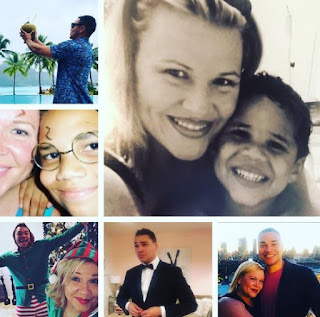 Picture collection of Holly Rowe with her son
