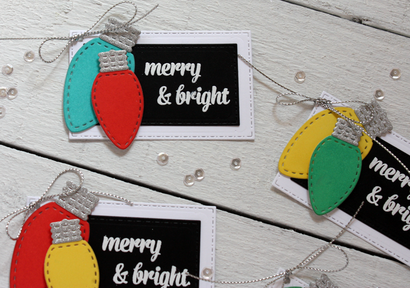 Christmas In July Gift Tags.A Jillian Vance Design Shine Bright Christmas In July Gift Tags