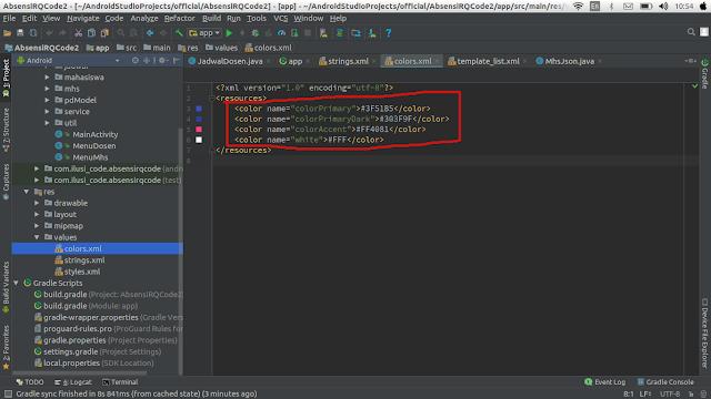 Cara Reskin Code Aplikasi Android Studio Untuk Playstor