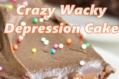 Crazy Wacky Depression Cake