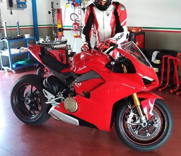Bentuk Sebenar Ducati V4 Di Dedahkan
