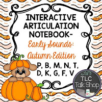 https://www.teacherspayteachers.com/Product/Interactive-Articulation-Notebooks-Early-Sounds-Autumn-Edition-1982023