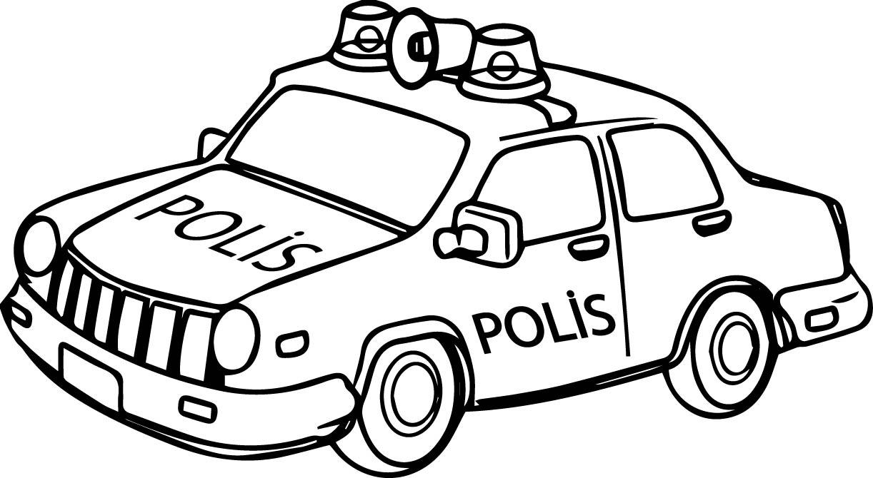 Polis Apkas Boyama üst Ev Boyama Sayfası