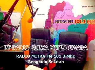 Radio Mitra FM 101.3 MHz Bengkulu Selatan