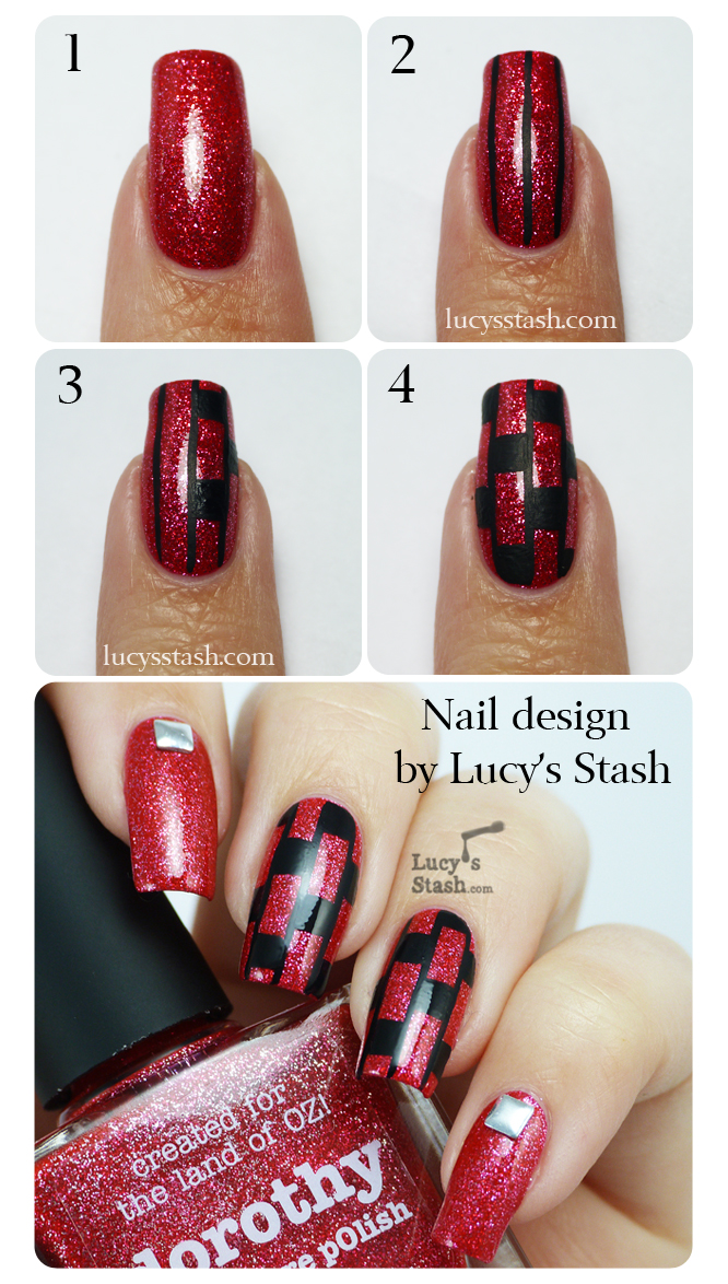 Lucy's Stash: Patterned nail art tutorial!