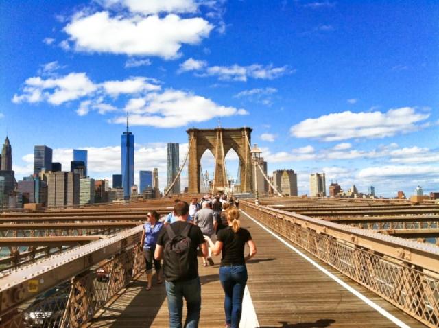 Nova Iorque ou New York, a cidade que nunca para, parou