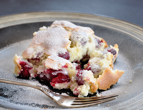 Confessions Of A Spoon Sour Cherry Cake With Buttermilk