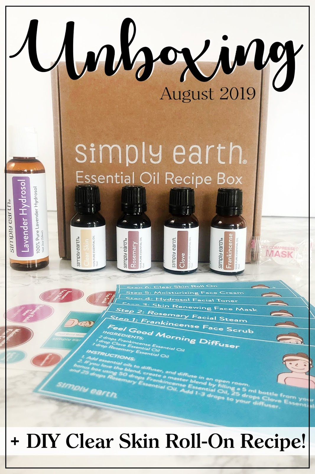 Southern Mom Loves: Simply Earth Essential Oil Recipe Box {August