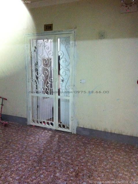 Làm cửa sắt chung cư tại chung cư N01-T3 Ngoại Giao Đoàn