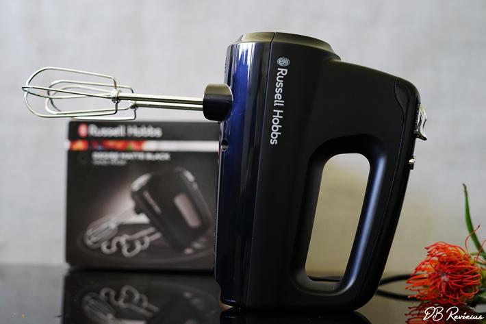 Russell Hobbs Desire Matte Black Hand Mixer