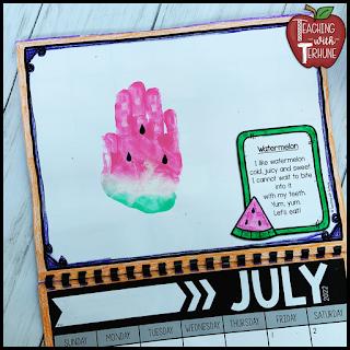 Watermelon Handprint