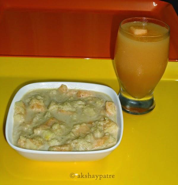 musk-melonrasayana in a bowl