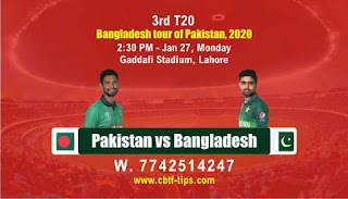 cricket prediction 100 win tips Pak vs Ban