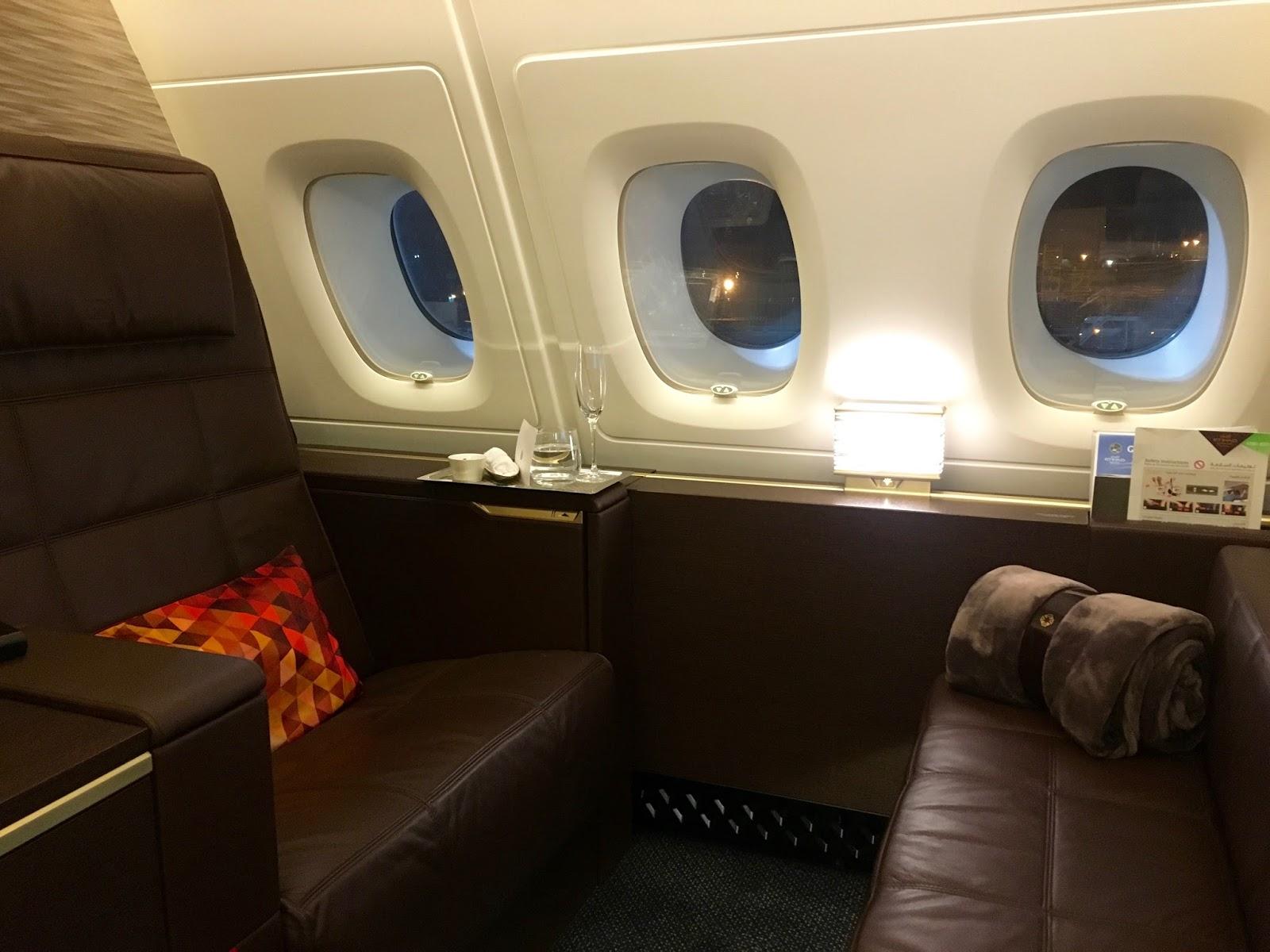 Pic etihad airways a380 first class apartment 4k may 2015 - Etihad A380 First Class Apartment 3k
