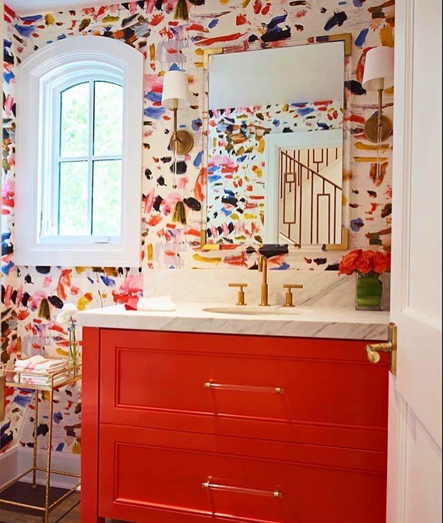 Wallpaper Bathroom Inspo
