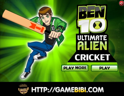 Play Ben 10 Ultimate Alien Cricket Game