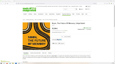 """Screenshot of roots of compassion website to order """"Soon, The Future of Memory"""""""