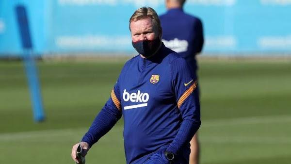 """Koeman: """"Entrenar al Barça para mí era ahora o nunca"""""""