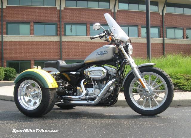 Custom Harley Davidson Trike Conversion Indiana USA