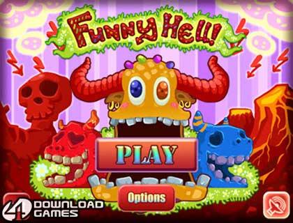 لعبة الاكشن والقتال المضحكة Funny Hell تحميل سهل وسريع