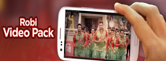 Robi 3 GB Internet YouTube Video Pack 60 Taka for 7 Days Offer Code 2020