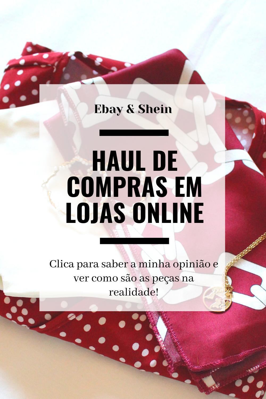 Opinião sobre os produtos do Ebay e da Shein