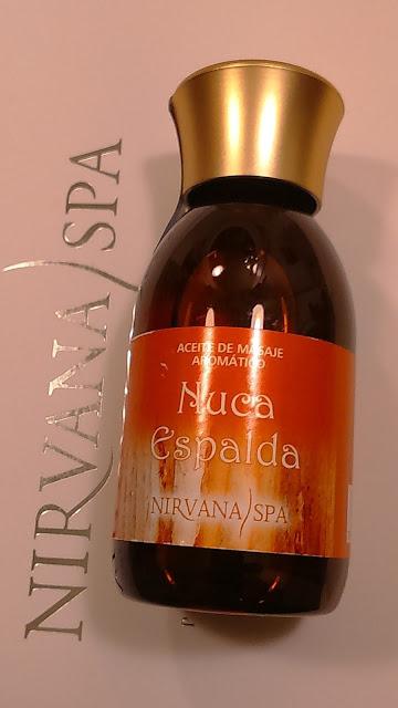 Aceite de masaje Nirvana spa