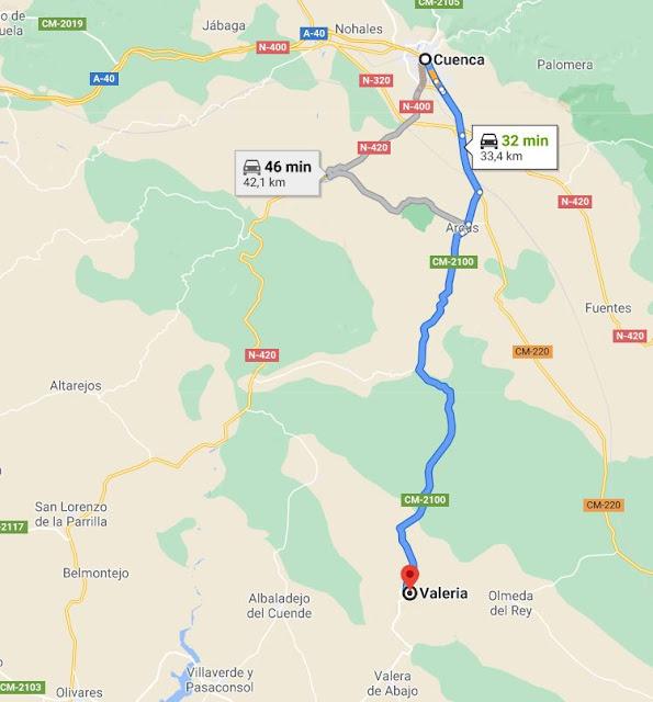 como visitar ruinas romanas Valeria Cuenca