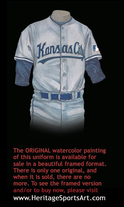 watch cdb61 45ea0 Kansas City Royals Uniform and Team History | Heritage ...